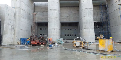 Grouting & Injection Work at FaizAbad Dam